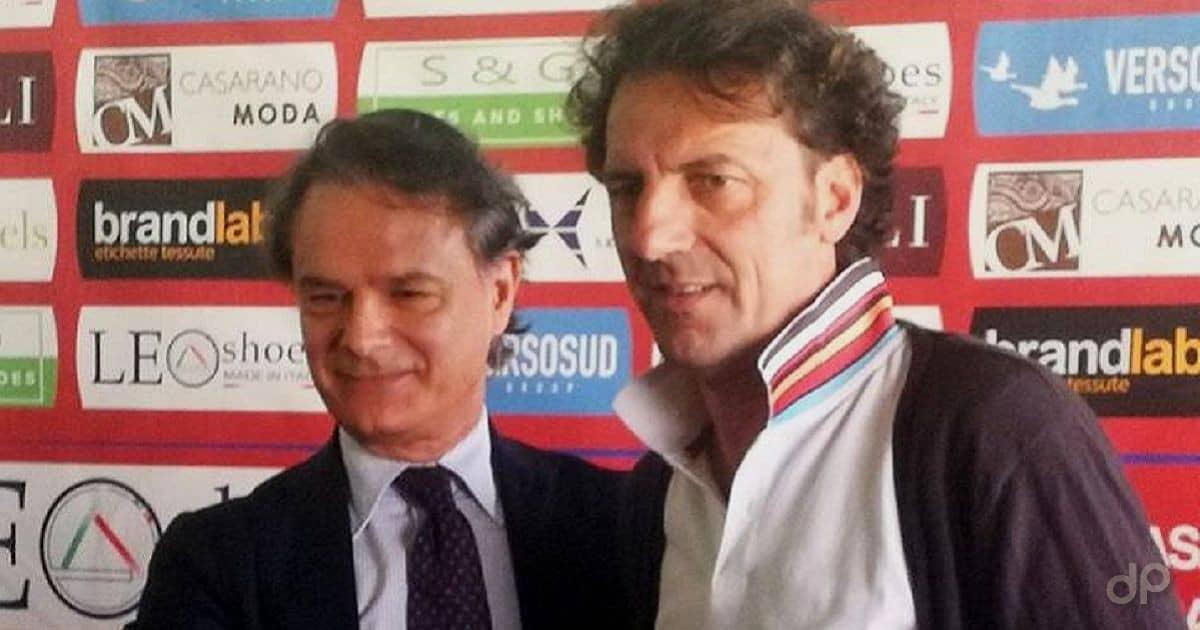 Pasquale De Candia allenatore Casarano 2018