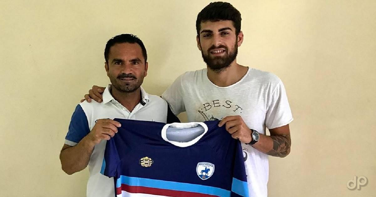 Raffaele Paglione al Manfredonia FC 2018