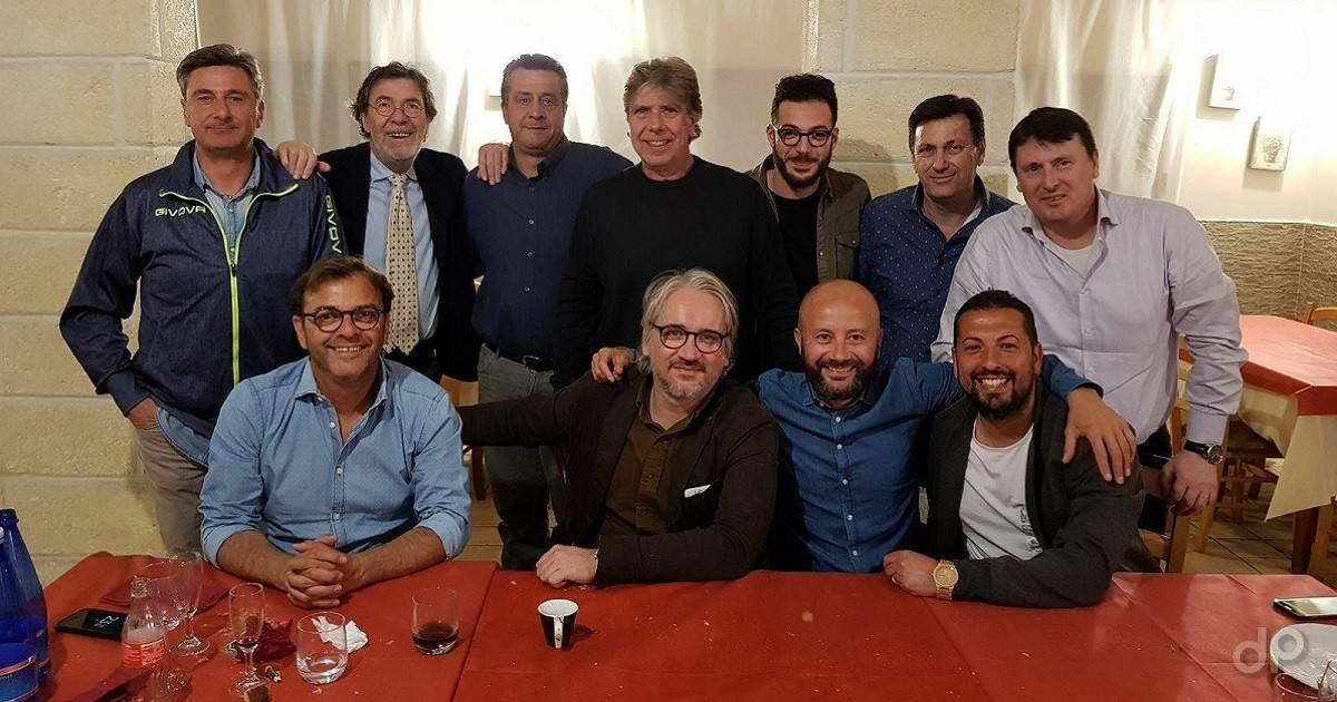 Lo staff 2018/19 della Molfetta Calcio