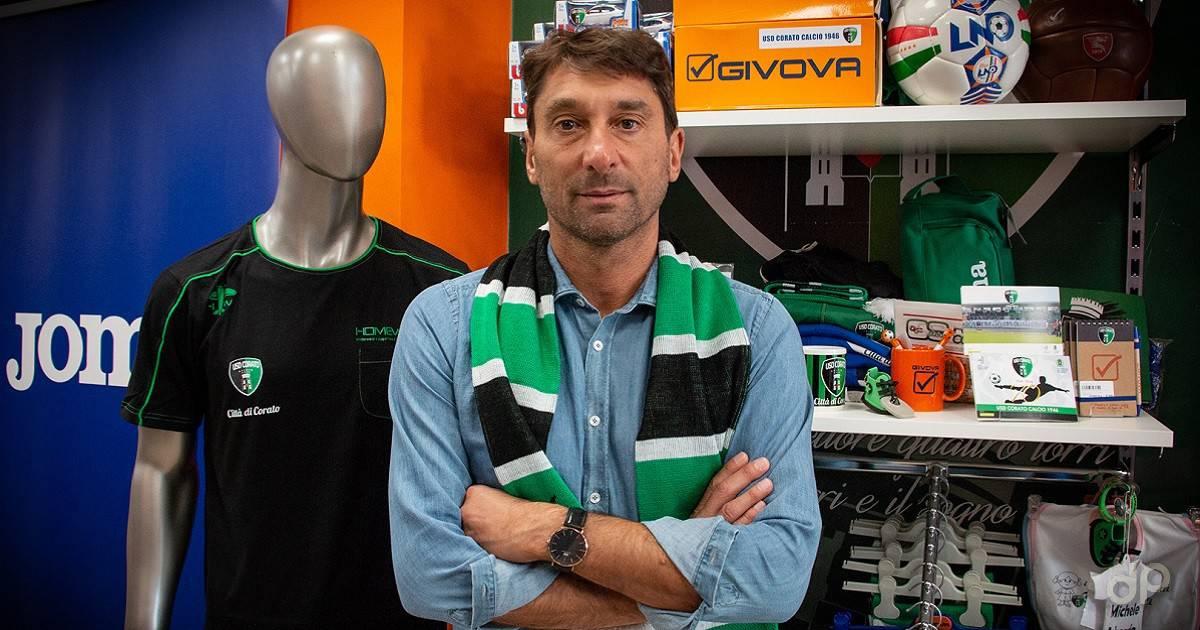 Vito Castelletti allenatore Corato 2018