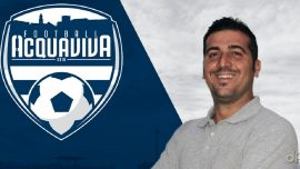 Vito Digiorgio allenatore Football Acquaviva 2018