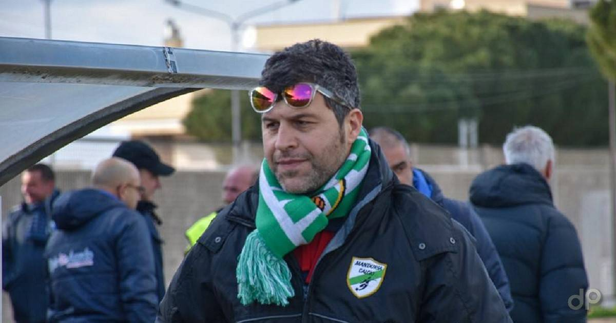 Walter Lippolis allenatore Manduria 2018