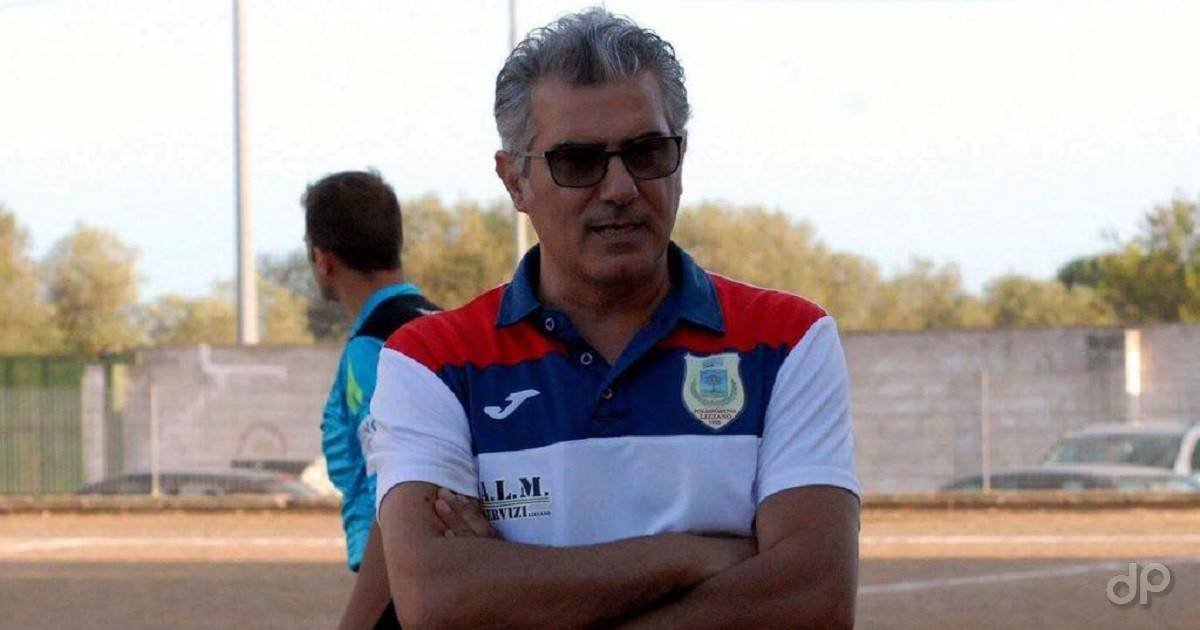 Aldo Palmieri allenatore Lizzano 2018
