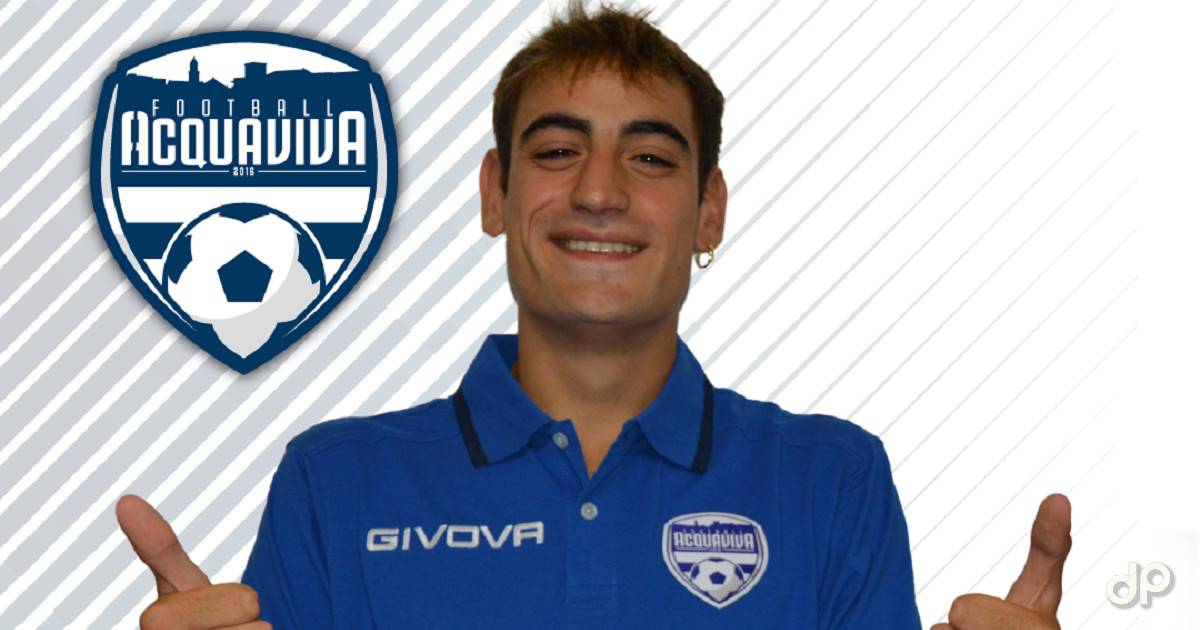 Alessandro Racano al Football Acquaviva 2018