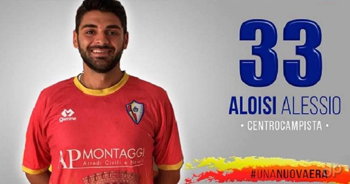 Alessio Aloisi all'Atletico Aradeo 2018