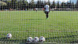 Allenamento palloni rete