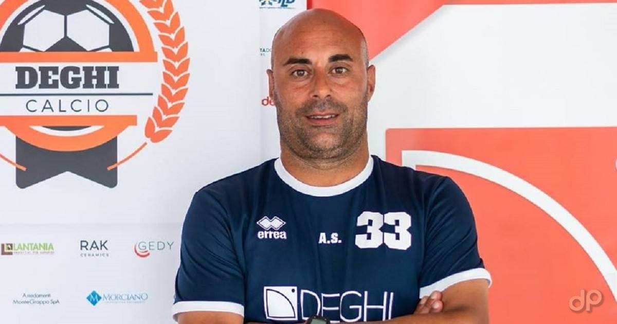 Andrea Salvadore allenatore Deghi Lecce 2018