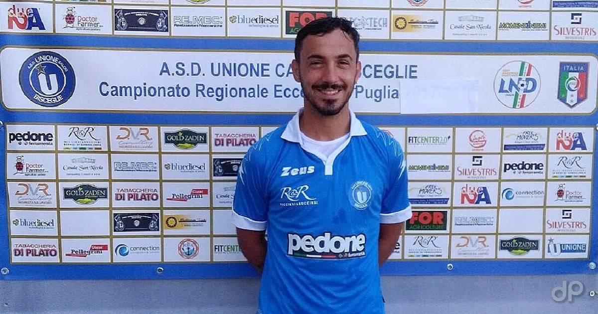 Antonio Caprioli all'Unione Calcio Bisceglie 2018