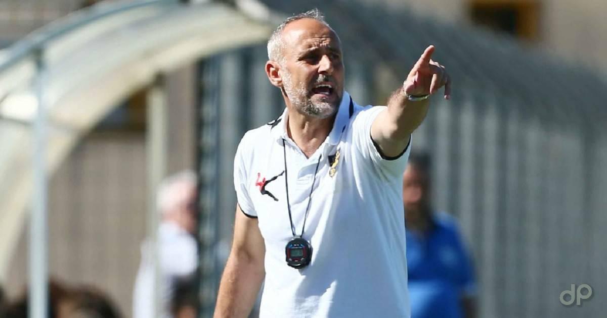 Claudio Luperto allenatore Lecce