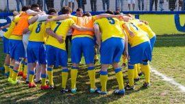 La squadra del Don Uva in campo