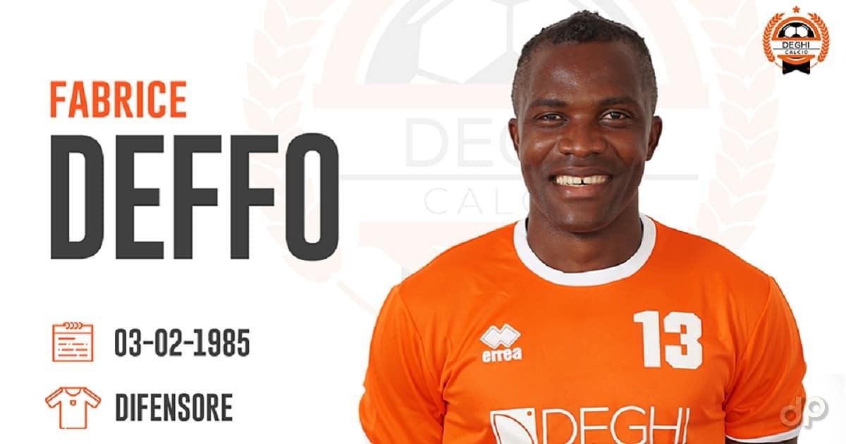 Fabrice Deffo alla Deghi Lecce 2018
