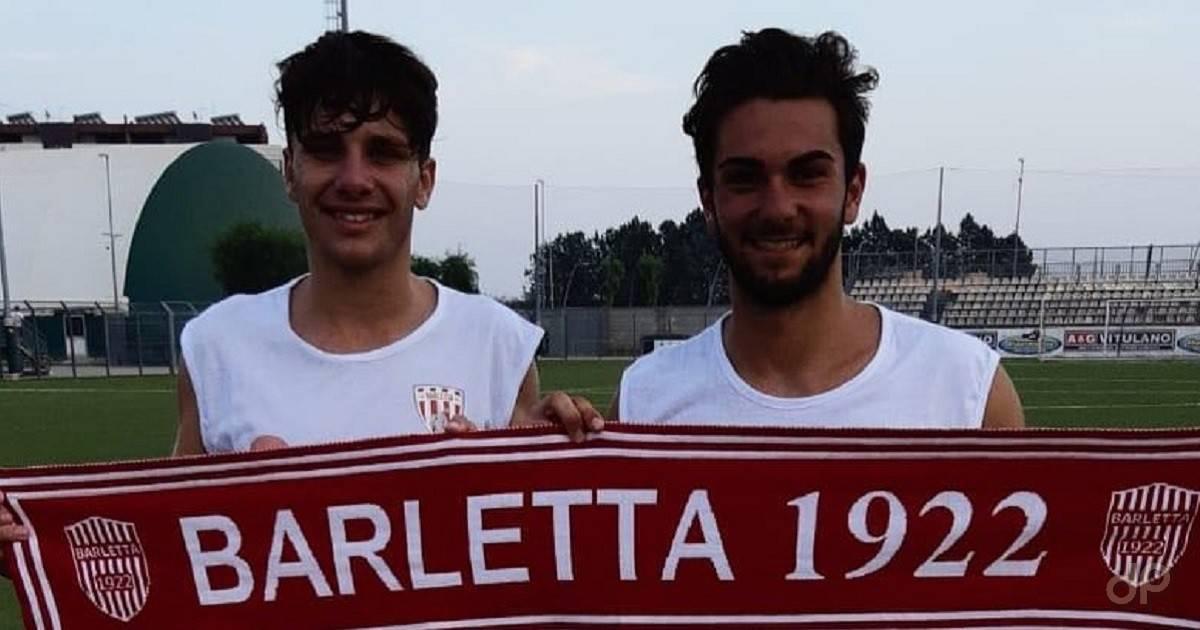 Francesco Barrasso e Daniele Eligio Dinoia al Barletta 2018