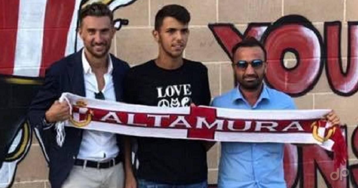 Gianluca Volzone alla Team Altamura 2018