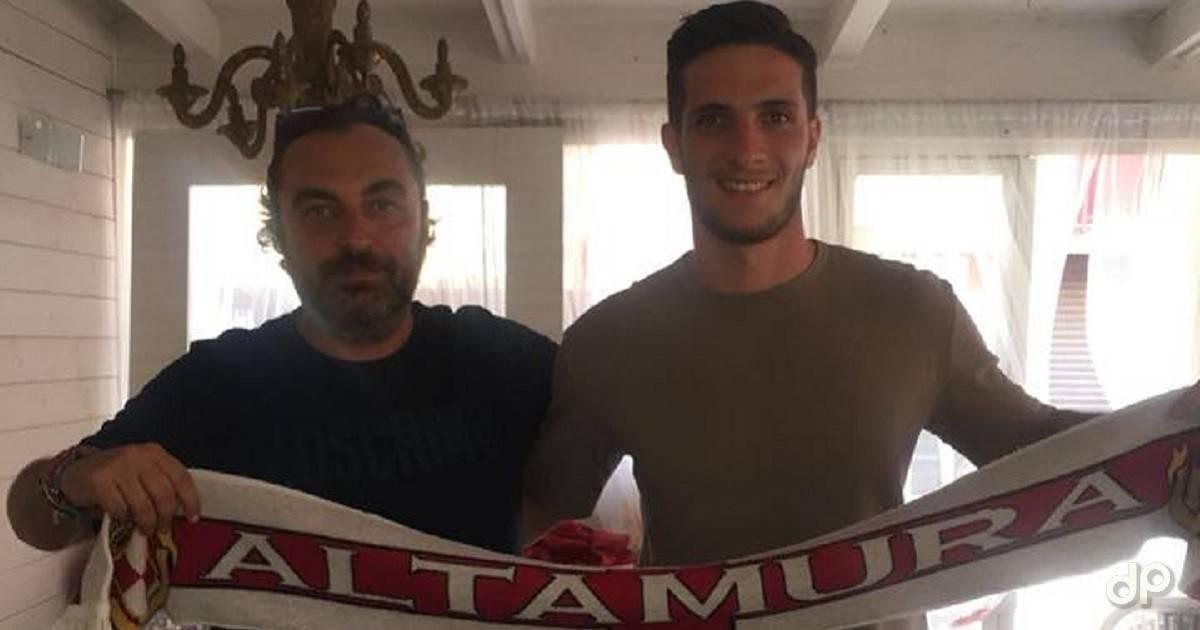 Giuseppe Tedesco alla Team Altamura 2018