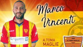Maglie, Vincenti si aggrega alla rosa giallorossa. La prima conferenza stampa