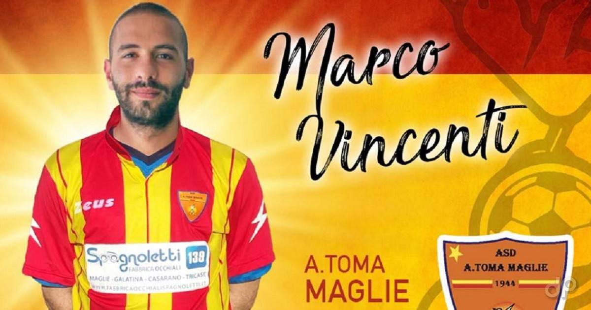 Marco Vincenti al Maglie 2018