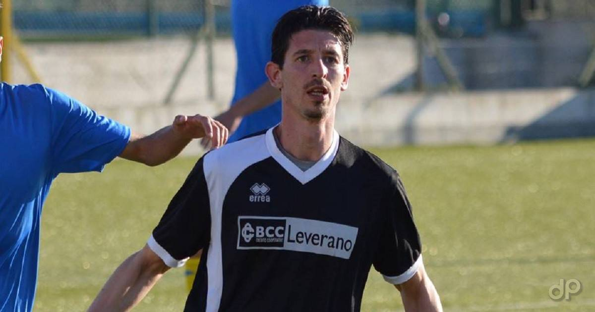 Natale De Benedictis alla Salento Football Leverano 2018