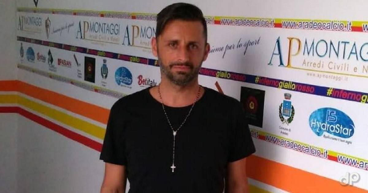 Pablo Cerbino allenatore Atletico Aradeo 2018