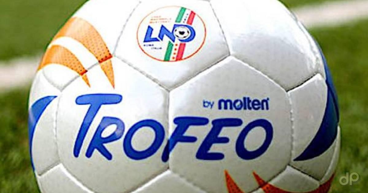 Pallone LND Trofeo primo piano