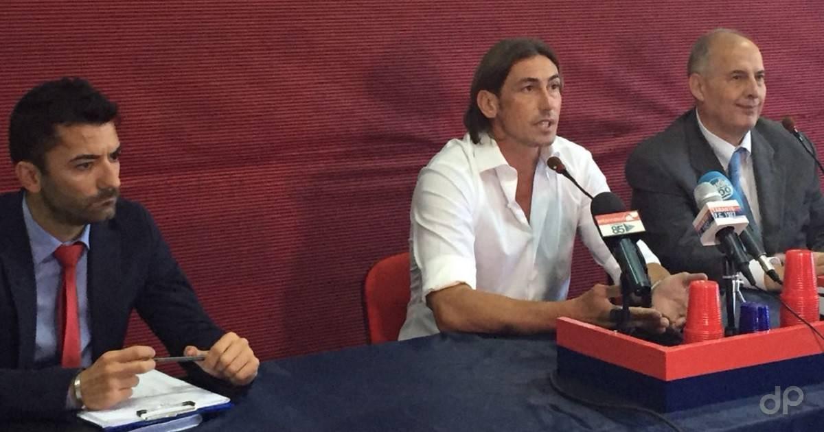 Presentazione Luigi Panarelli allenatore Taranto 2018