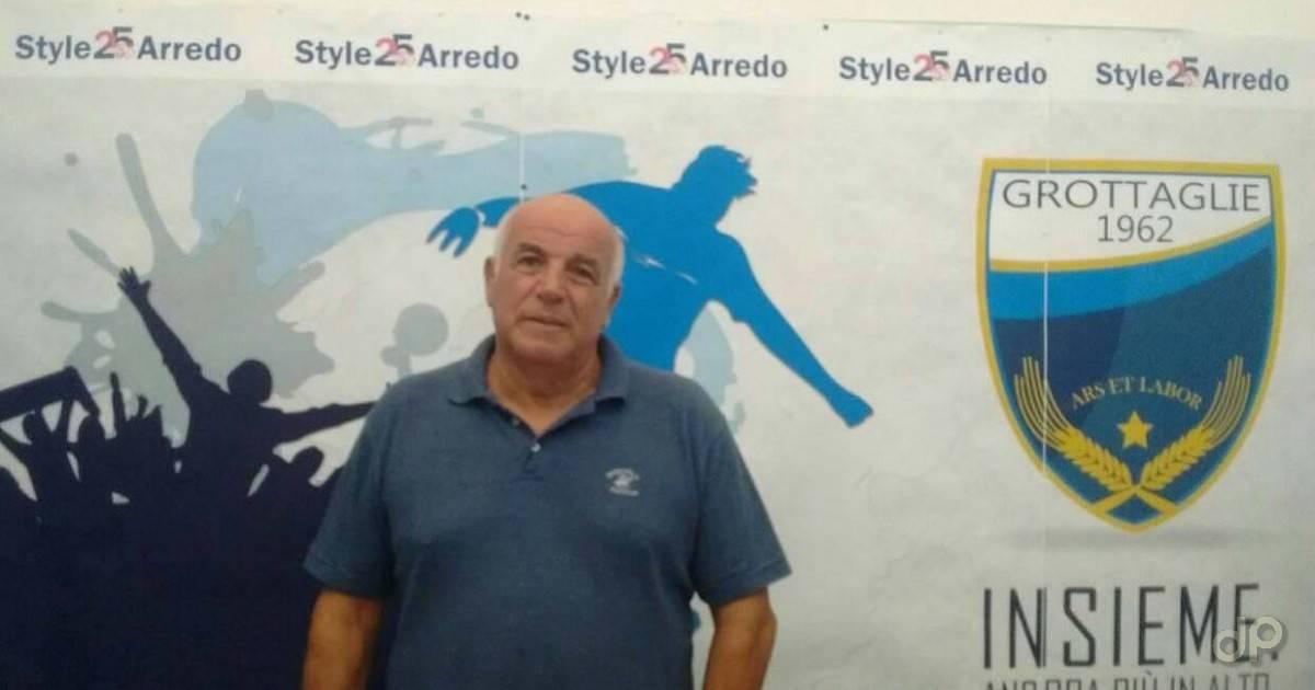 Vincenzo Pizzonia direttore sportivo Grottaglie 2018