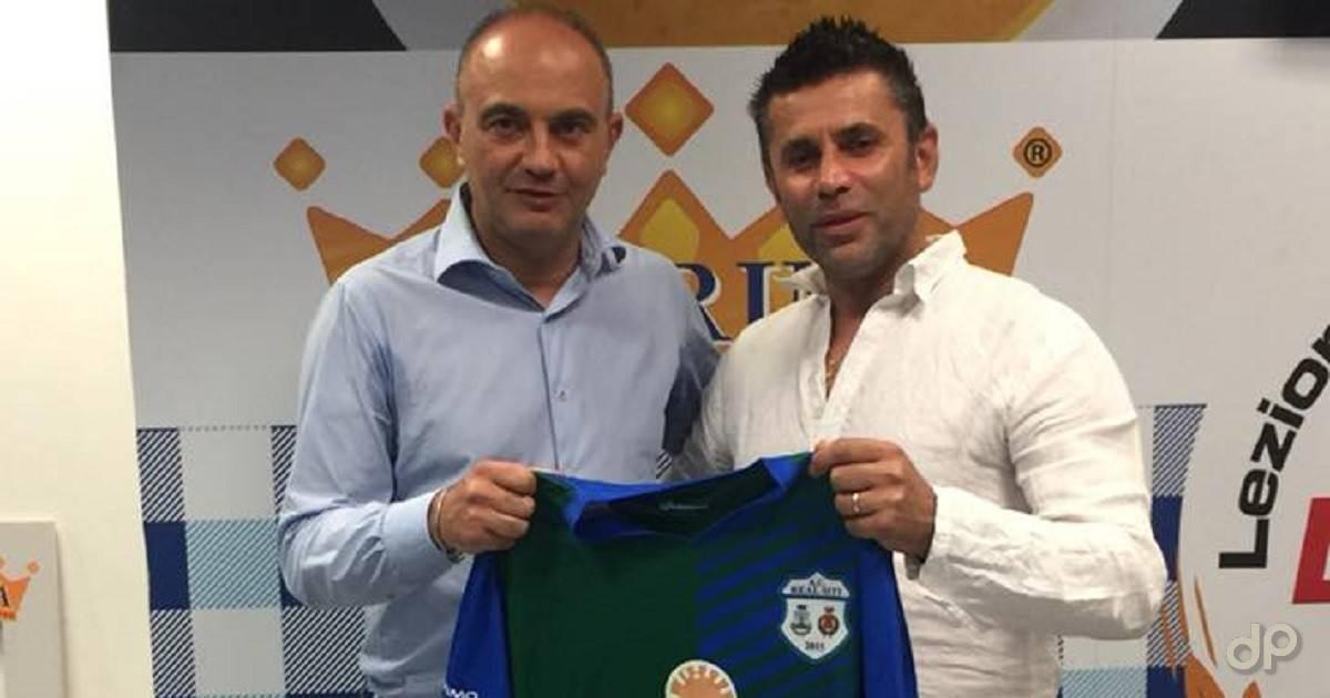 Giuseppe Lo Polito allenatore Real Siti 2018