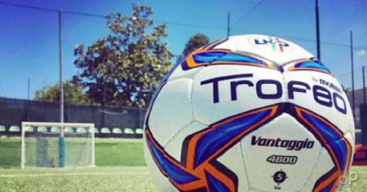 Pallone LND campo porta