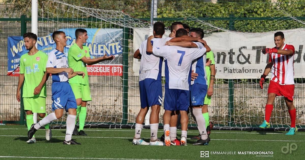UC Bisceglie-Molfetta calcio Coppa Italia 2018