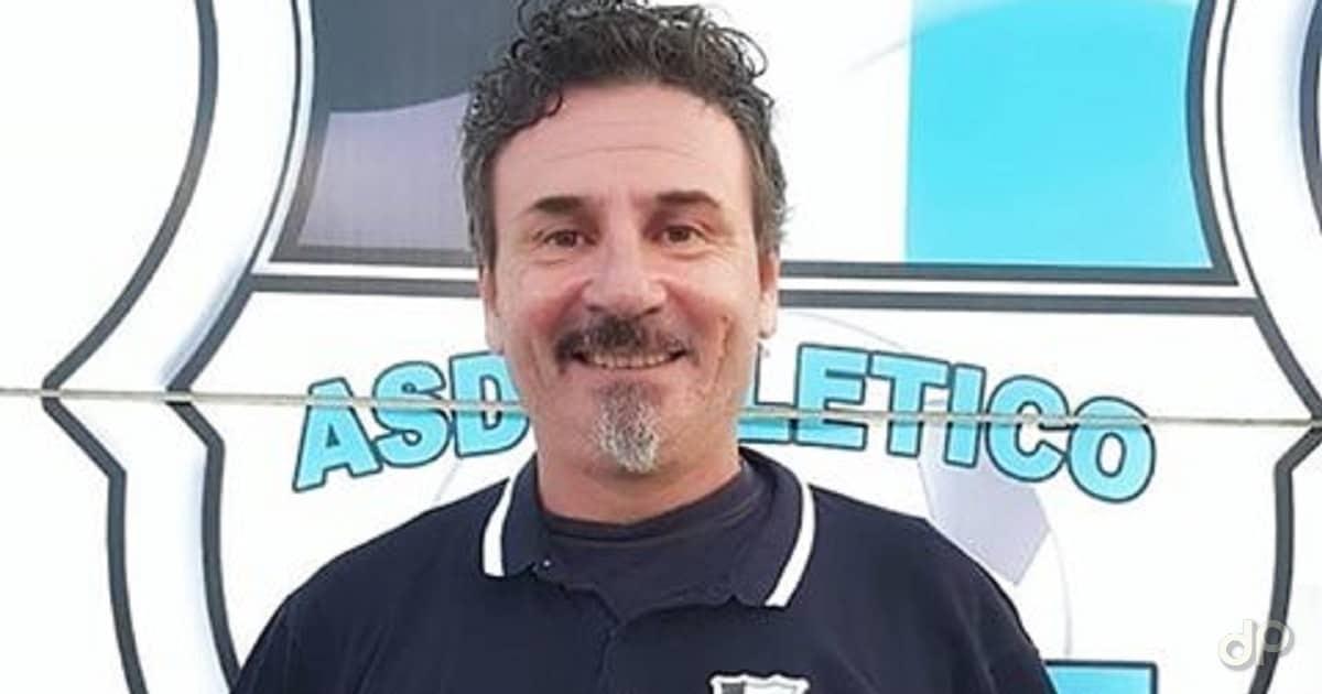 Gioacchino Marangio allenatore Atletico Racale 2'18