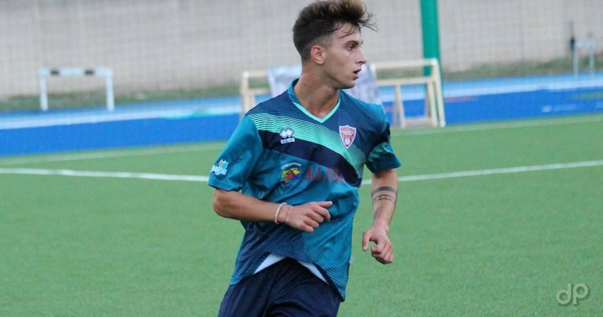 Kevin Cfarku alla Molfetta Calcio 2018