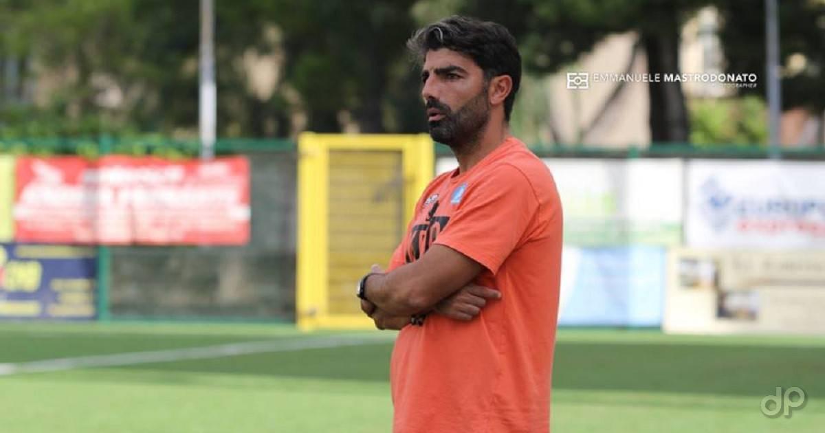 Paolo De Francesco allenatore UC Bisceglie 2018
