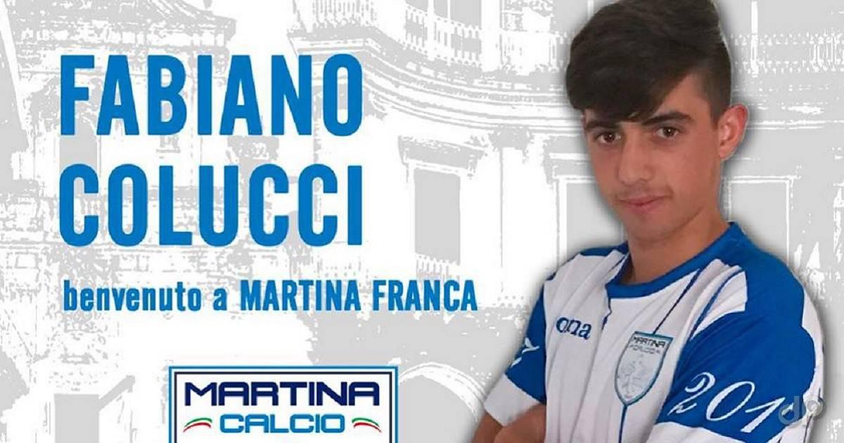 Fabiano Colucci al Martina 2018