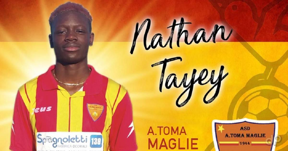 Nathan Tayey al Maglie 2018