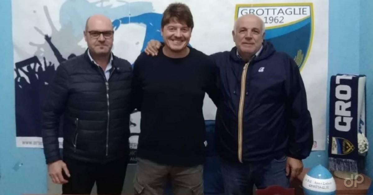 Pierluigi Orlandini allenatore dell'Ars et Labor Grottaglie 2018