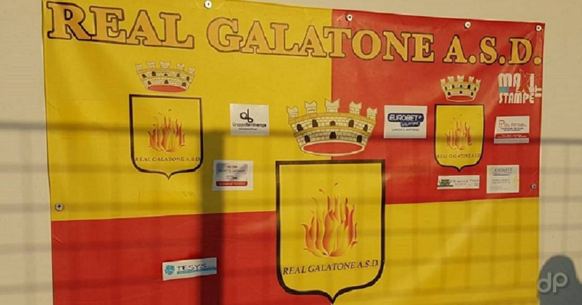 Real Galatone cartellone campo