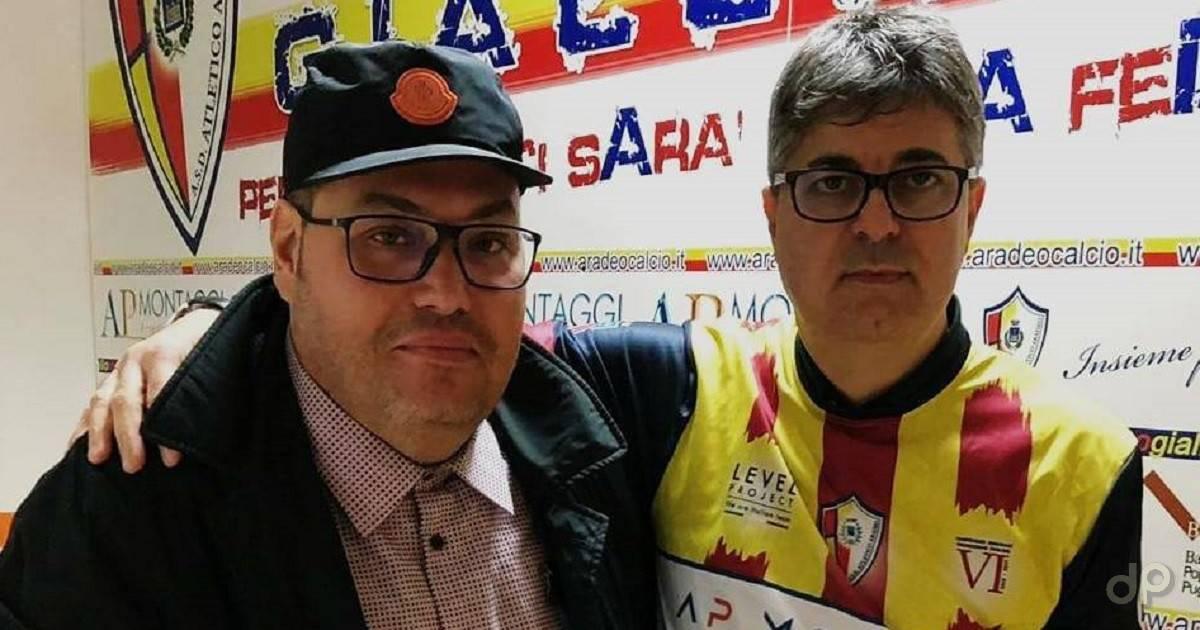 Biagio Bruno presidente Atletico Aradeo 2018