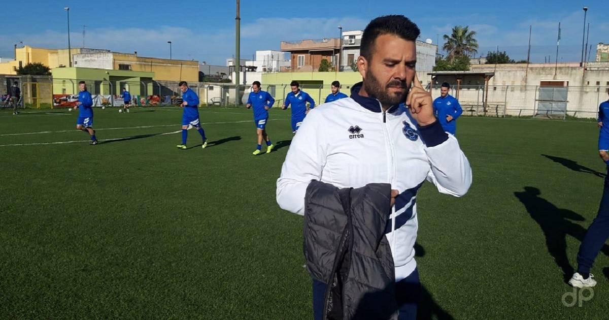Claudio Angelè direttore sportivo Virtus Matino 2018