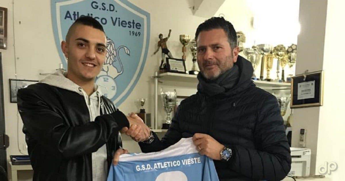 Giuseppe Molenda all'Atletico Vieste 2018