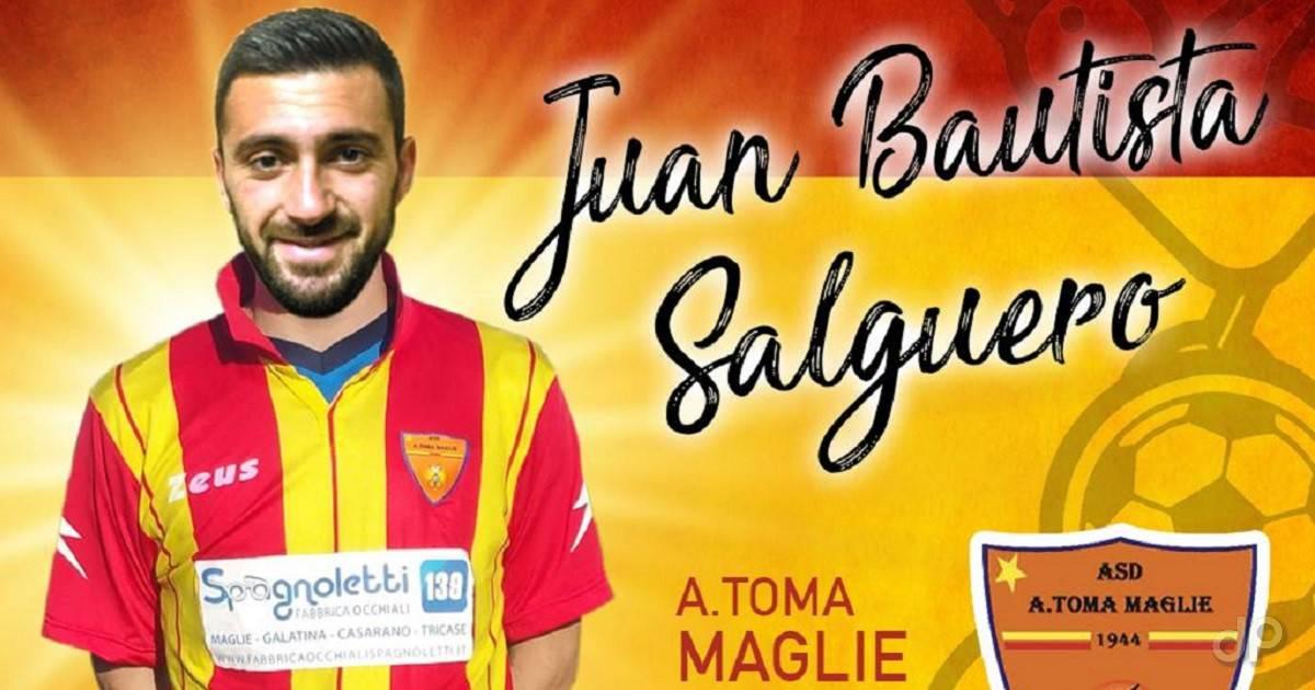 Juan Bautista Salguero al Maglie 2018