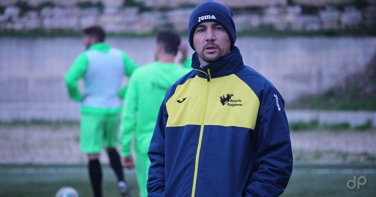 Angelo Corti allenatore Rutiglianese 2019