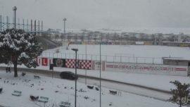 Stadio Altamura neve 2019