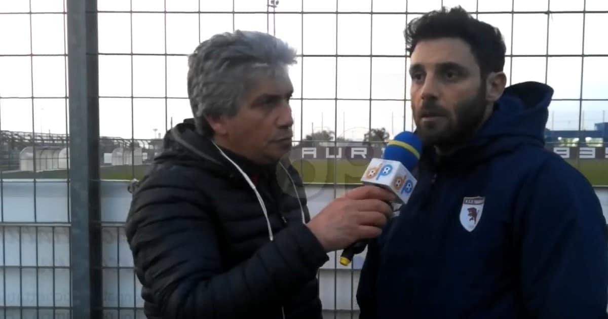 Andrea De Benedictis allenatore Taurisano 2019