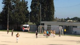 Atletico Aradeo-SF Leverano, un gol di Petrachi e la vittoria è giallorossa