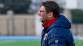Mimmo Leonino allenatore Borgorosso Molfetta 2019