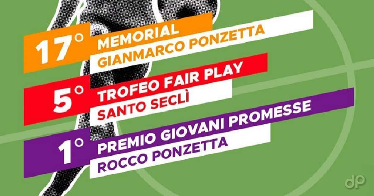 Locandina Memorial Ponzetta-Seclì 2019
