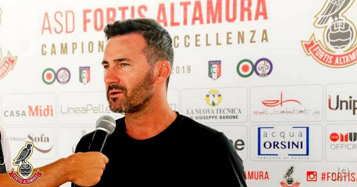 Paolo Lorusso presidente Fortis Altamura