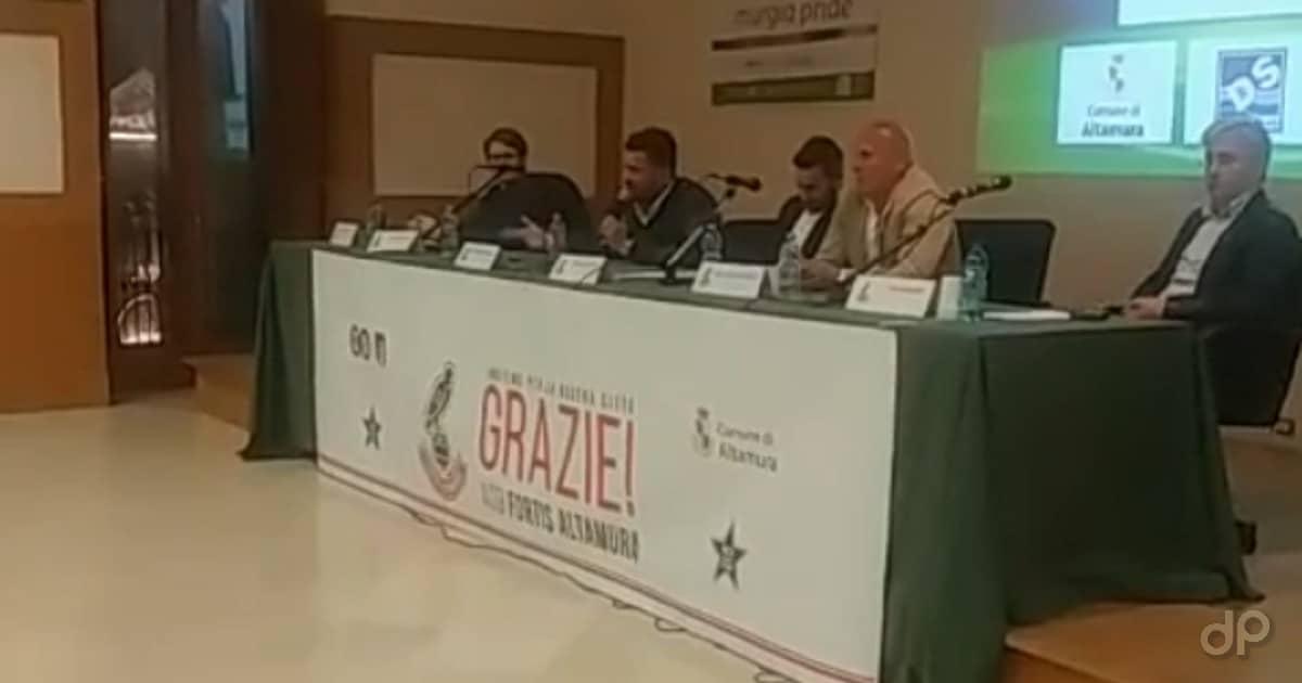 Conferenza stampa Fortis Altamura fine stagione 2019