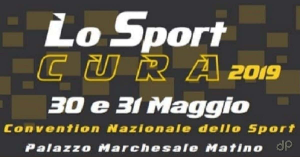 "Locandina ""Lo sport cura"" 2019"