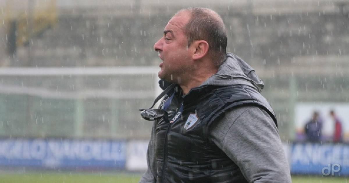 Massimo Pizzulli tecnico del Bitonto 2019