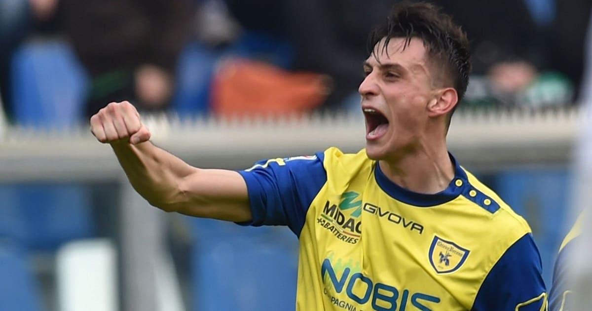 Roberto Inglese al Chievo 2018